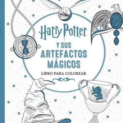 Harry Potter - Artefactos mágicos (para pintar)