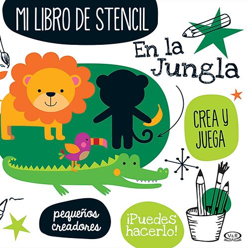 Mi libro de stencil - En la jungla