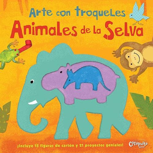 Animales de la selva - Arte con troqueles