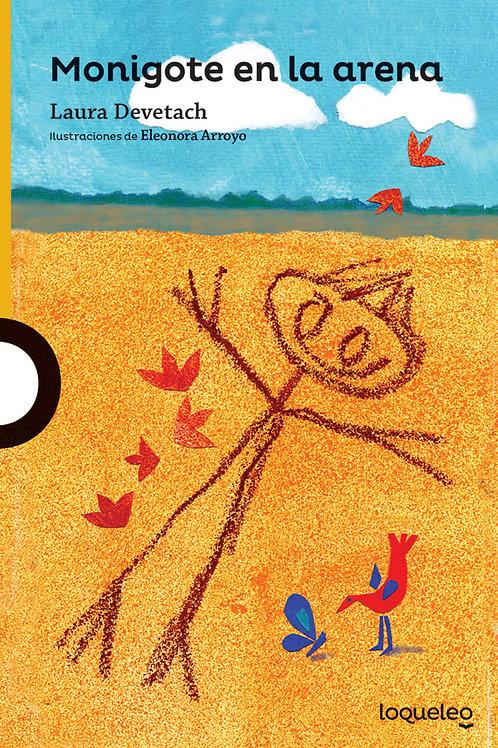 Monigote en la arena