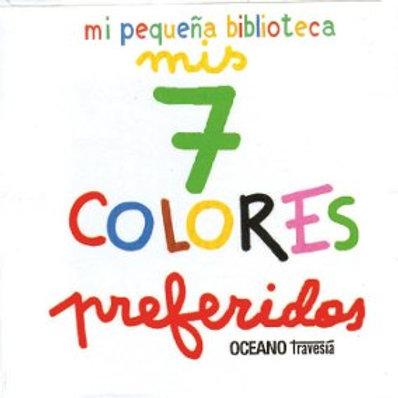 Mis 7 colores preferidos