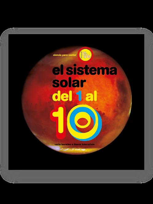 El sistema solar del 1 al 10