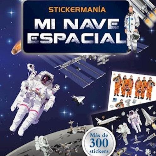 Stickermanía - Mi nave espacial