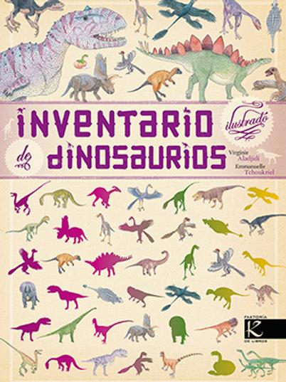 Inventario de dinosaurios