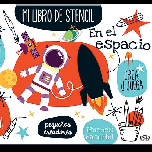 Mi libro de stencil - En el espacio