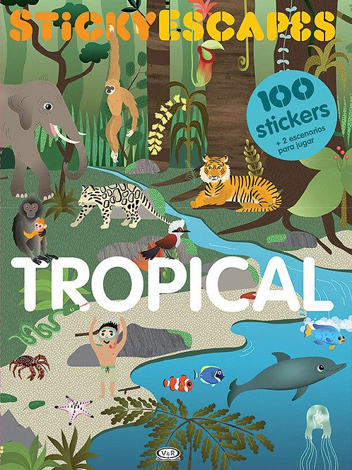 Stickyescapes. Tropical