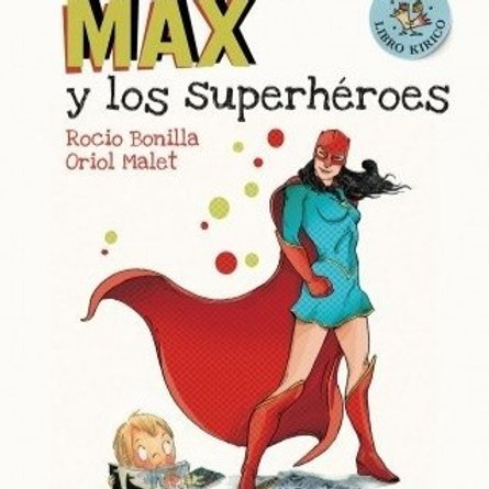 Max ylos superhéroes