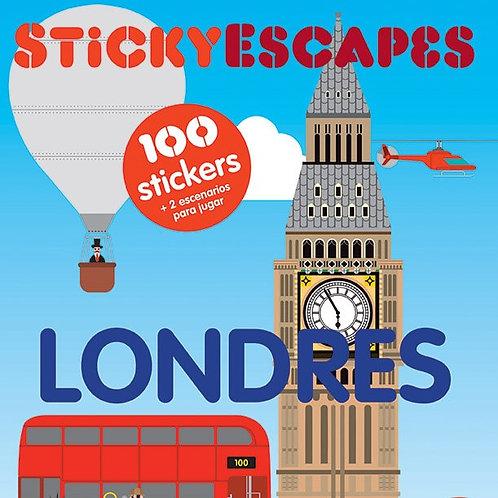 Stickyescapes. Londres