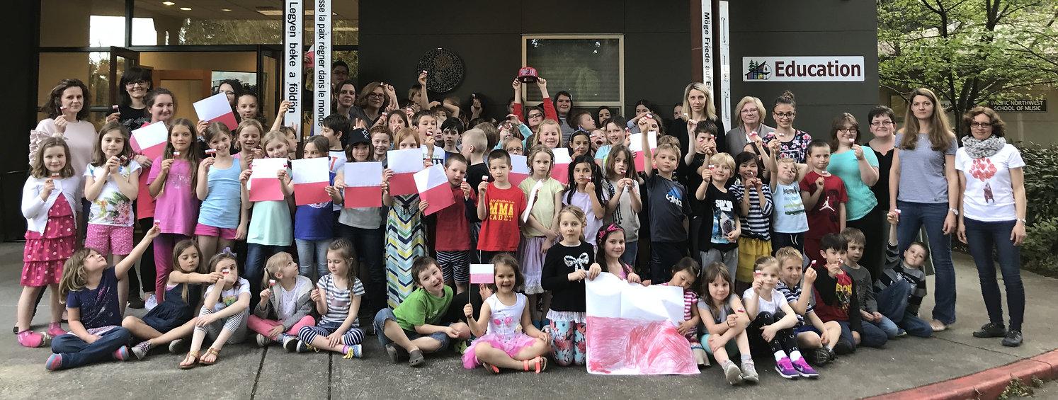 Registration at the Polish School in Bellevue