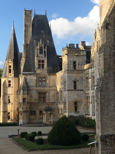 Château de Fontaine-Henry, normandie