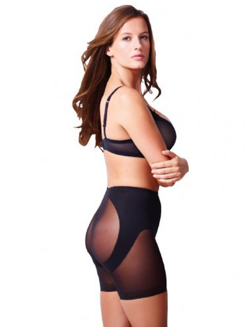 Miraclesuit Sexy Sheer Waistline Rear Lifting Boy Short