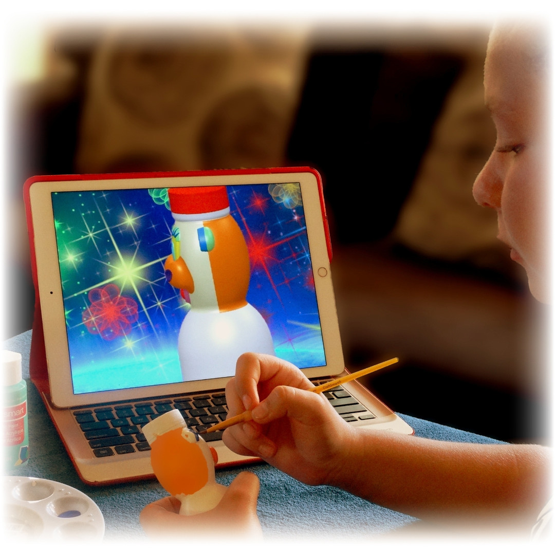"""Colormoji 3D"" App Integrate Technology & Hands-on Activities"