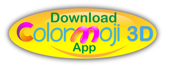 link to Download Colormoji 3D App on google play and App Store