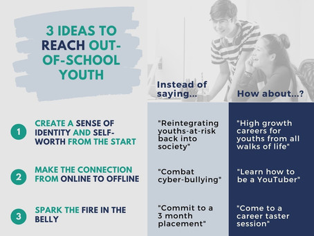 How do we reach them? 3 ideas to connect to out-of-school youth (#4 in youth employability series)