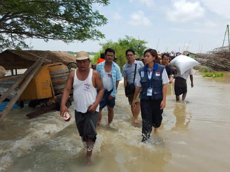 """""""A marathon not a sprint"""": Conversations with a disaster relief specialist about COVID-19"""