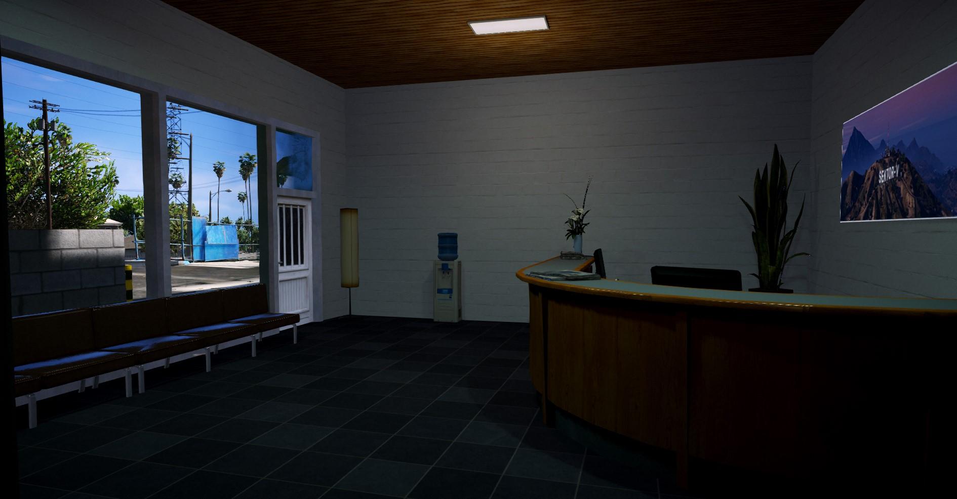 Büro Ansicht