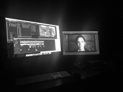 """Editing Session for """"The Lie Game"""""""
