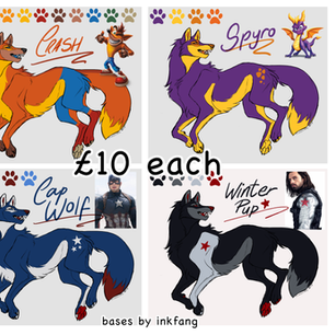 Canine Adopts [Sheet 1/2]