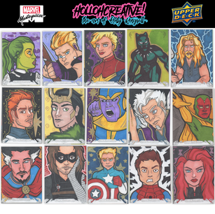 Marvel Masterpieces 2018