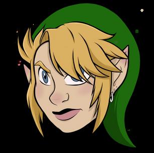 Link - The Legend Of Zelda [Headshot]