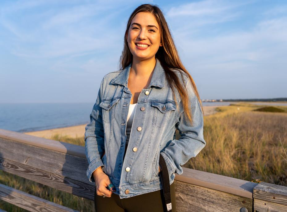 Heather at Boardwalk