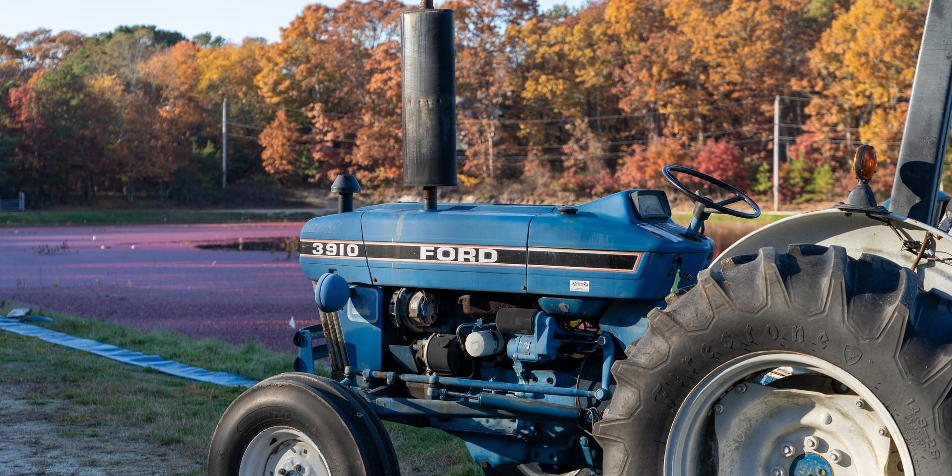 Tractor at Cranberry Bog