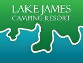 Lake James logo - 4 color - block - gree