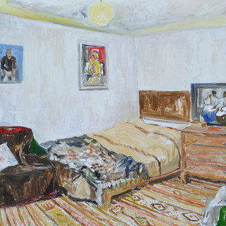 My Room III 65x81cm Oil on canvas 2014