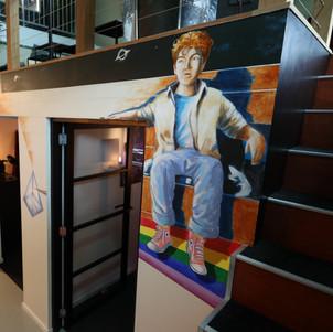 Vlijmscherp Wall Decoration Amsterdam 2020