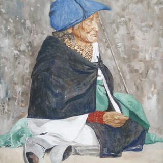 Otavalo 50.5x65cm Oil on canvas Ecuador 2007