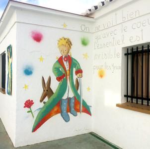 Detail Petit Prince themed Public School Spain 2017