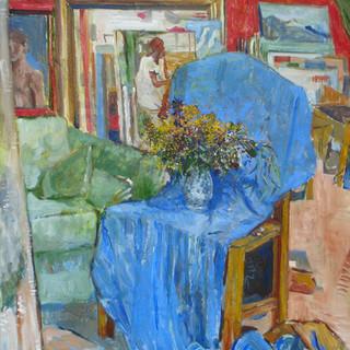 The Saharahui Scarf 66x54cm Oil on canvas Spain 2005