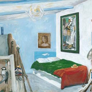 My room I 61x50cm Oil on canvas Mexico 2002