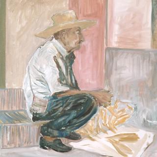 Vicente 61x50cm Oil on canvas Mexico 2000