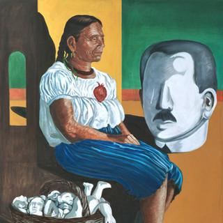 Sebastiana Aguilar 109x87cm Oil on canvas Mexico 2000