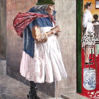 The white city 5x54cm Oil on canvas Bolivia 2006