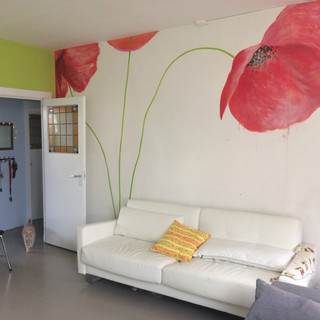 Private Home Poppies Netherlands 2020