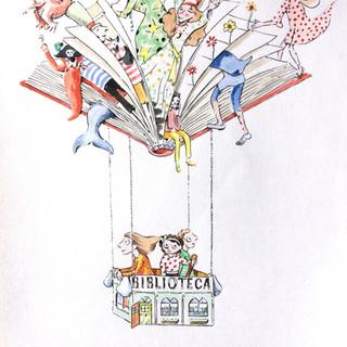 Illustration cover El Parlanchín Magazine