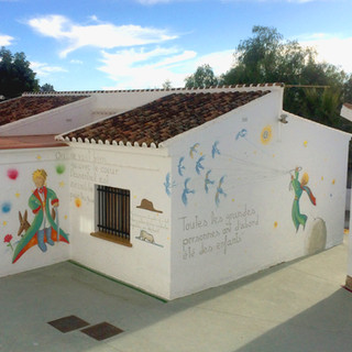 Petit Prince themed Public School Spain 2017