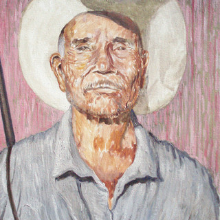 Faustino 51x65cm Oil on canvas Mexico 2009
