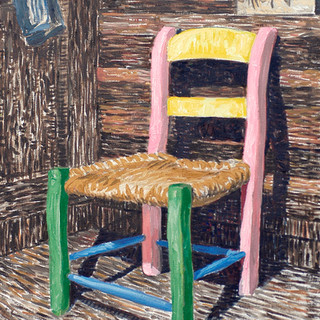 Painter's chair 50x65cm Oil on canvas 2010