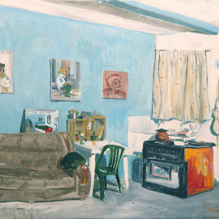 My room II 61x50cm Oil on canvas Mexico 2002
