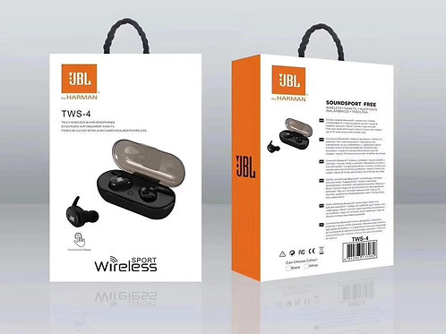 JBL HARMAN TWS-4 Wireless Earbuds 5.0