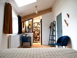 Chambre lumineuse et cosy