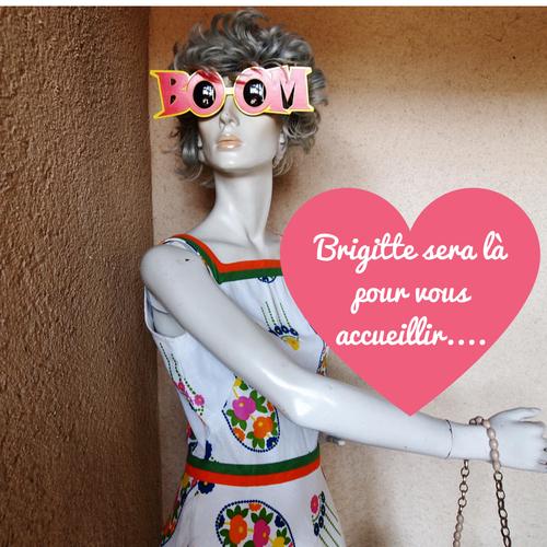 Brigitte Mascotte de Chez ninette