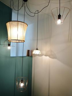 Luminaire gîte chez ninette