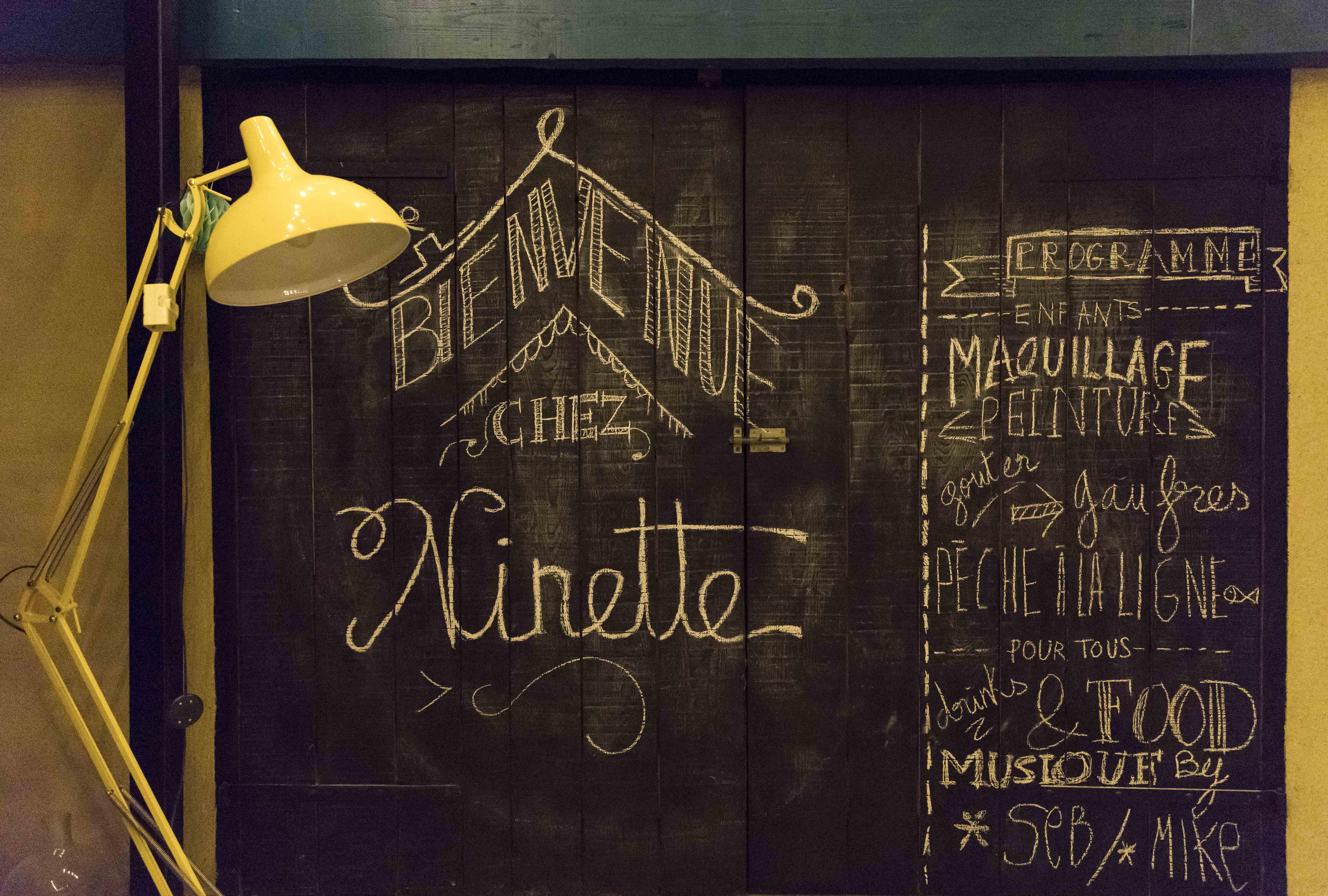 Bienvenue Chez ninette