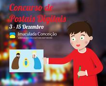 Concurso de Postais de Natal Digitais 🎄🎁🌟