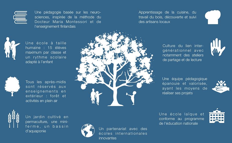 École maternelle nature Meudon Montessori Finlande Forest school extérieur forêt permacuture Céline Alvarez enfant 92 Haut de Seine