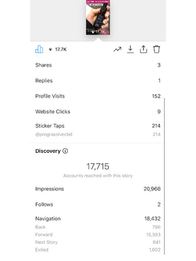 Insights on Story Promo